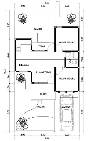 ... rumah sederhana sumber koleksigambarrumah com tips memilih denah rumah