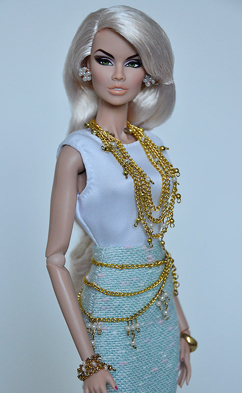 3 PCS Black Petticoat Fits Silkstone Barbie Fashion Royalty FR UNDER SKIRT SLIP