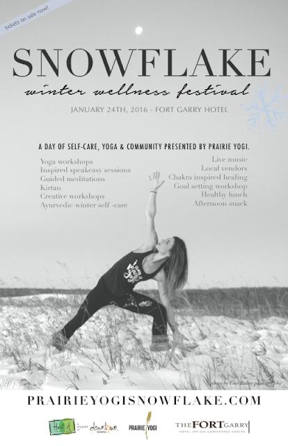 Snowflake, Canada Yoga Festival, Winter Festival, Yoga Festival, Winnipeg yoga, Winter self care, Prairie Yogi, Rachelle Taylor, inspired giving, Christmas gift ideas