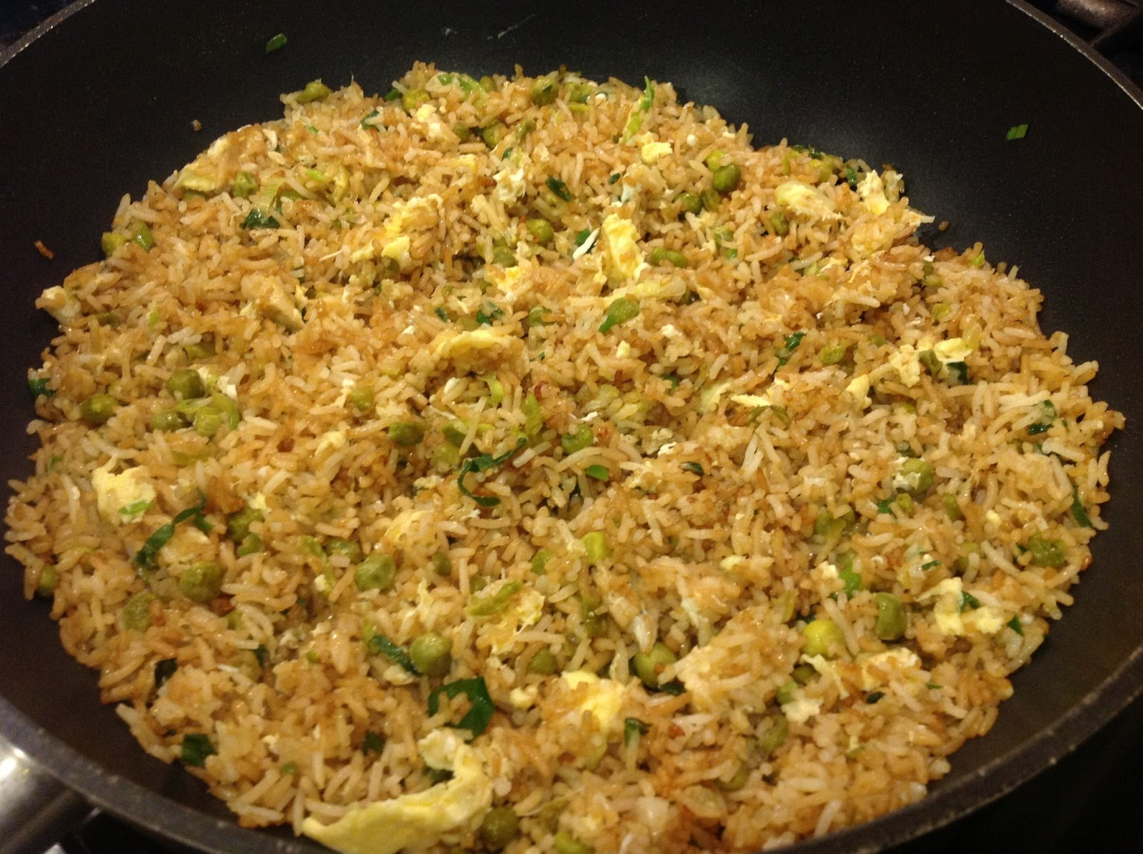 This Muslim Girl Bakes: Egg Fried Rice