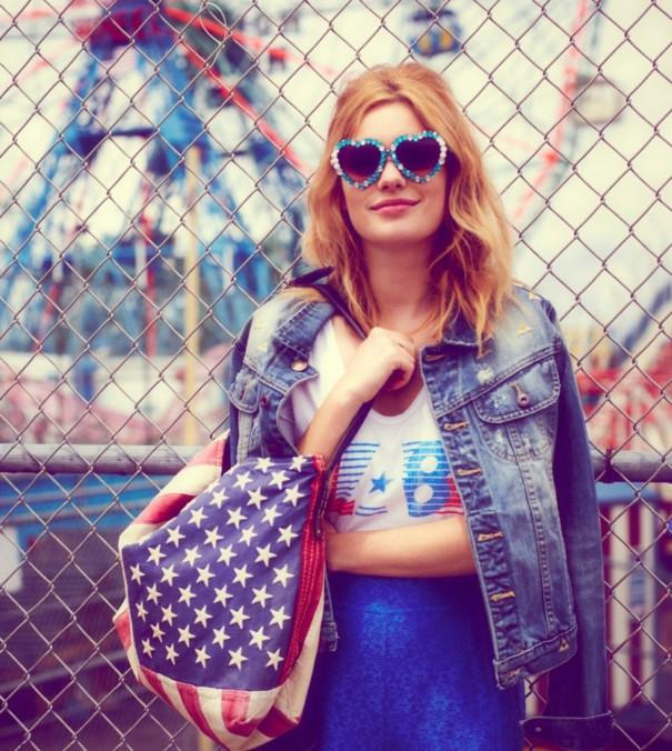 Camille Rowe - Free People Lookbook June 2012