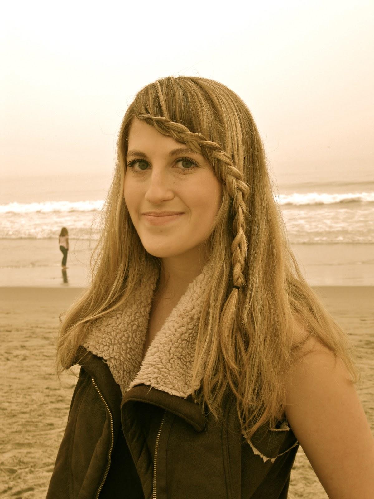 hippie braided bangs-hair tutorial