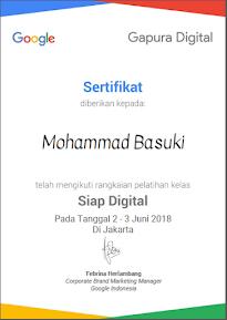 Sertifikasi Gapura Digital-Siap Digital
