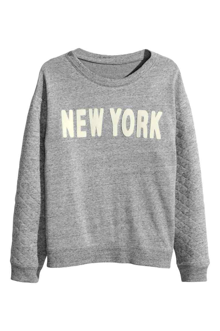 sweat-shirt New York H&M
