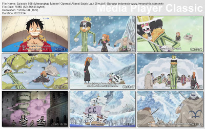 Download Film One Piece Episode 595 (Menangkap Master! Operasi Aliansi Bajak Laut Dimulai!) Bahasa Indonesia