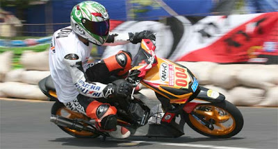Honda beat road race | modifikasi honda beat
