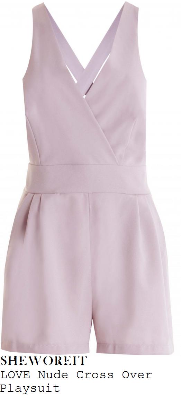 ferne-mccann-nude-pink-sleeveless-playsuit