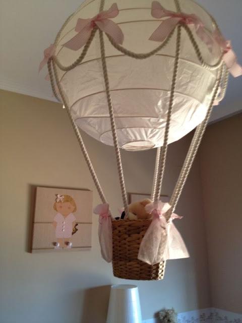 Reciclaje y manualidades para crear una lámpara infantil