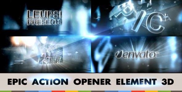 VideoHive Epic Action Opener Element 3D
