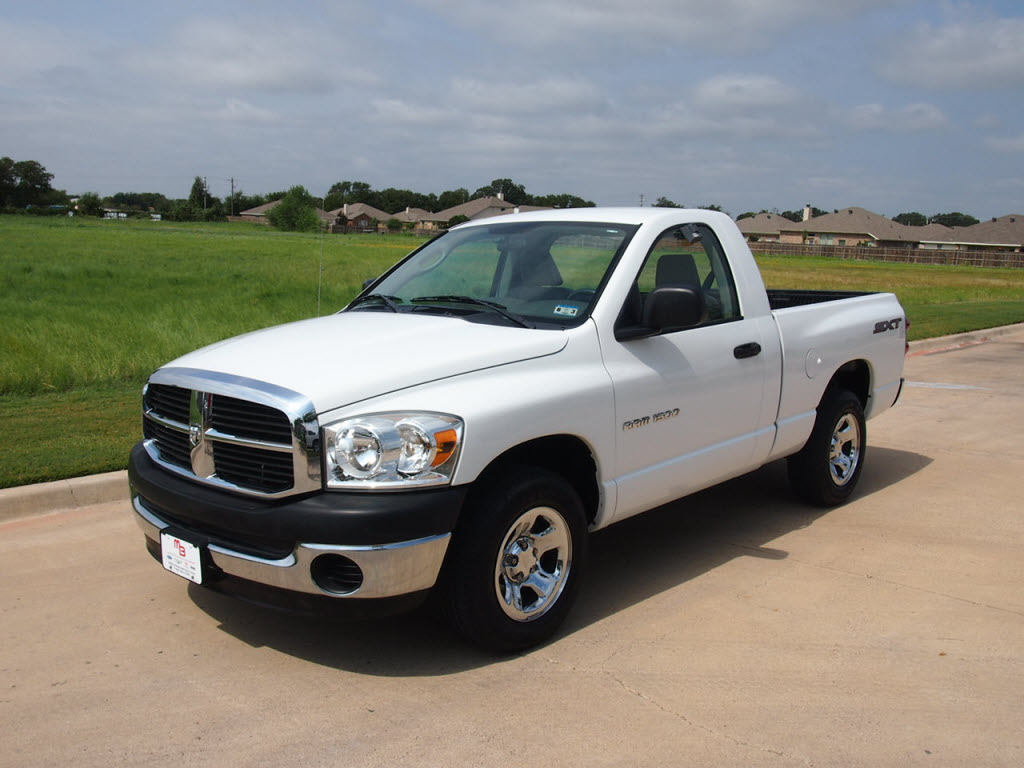2007 Dodge Ram 1500 Sxt Truck Regular Cab 12 588 Texas