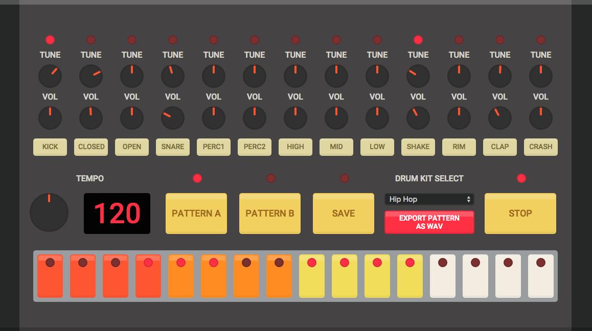 Der Webtipp des Tages - TR-808 Drumcomputer im Browser | Musikproduktion online