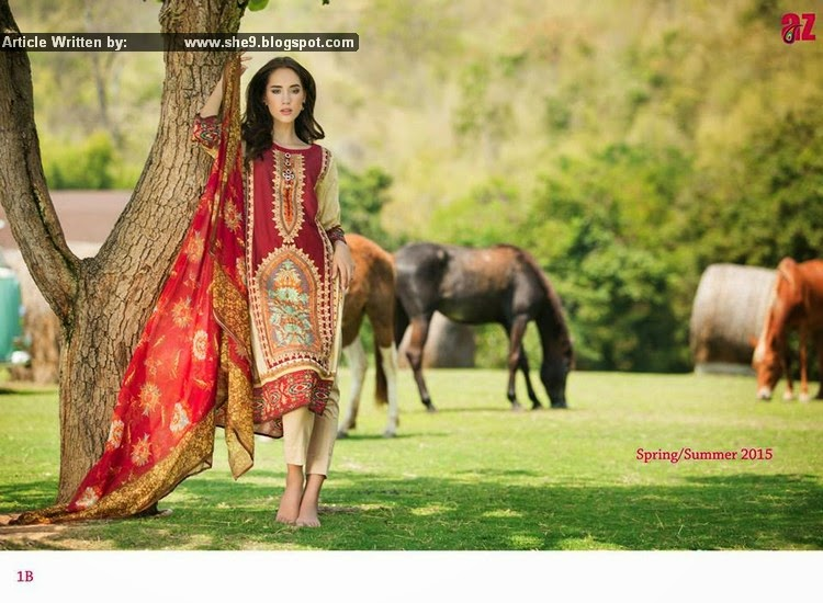 Ayesha Zara Spring Summer Collection 2015