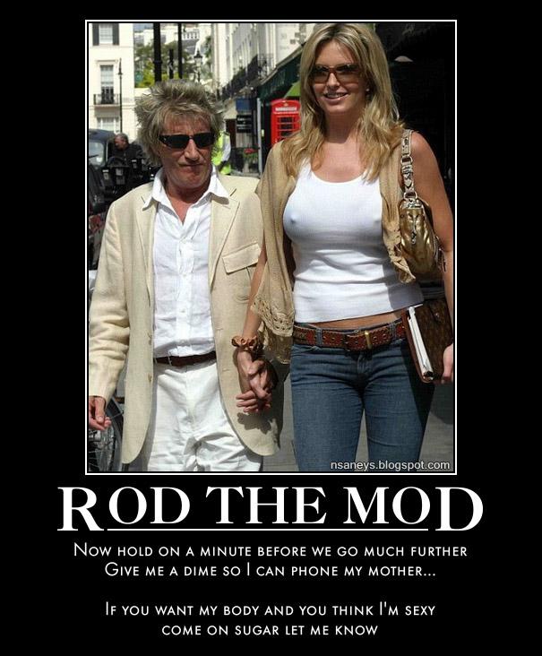 Rod Stewart - Da'Ya' Think I'm Sexy?