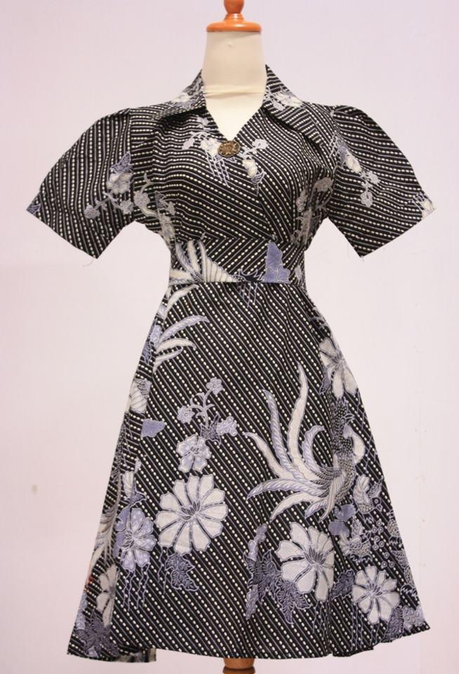 Model Baju Batik Modern Auto Design Tech