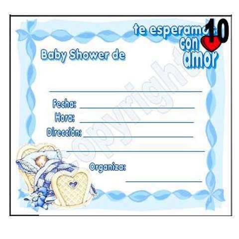 invitaciones para baby shower marca creaticas invitaciones de baby