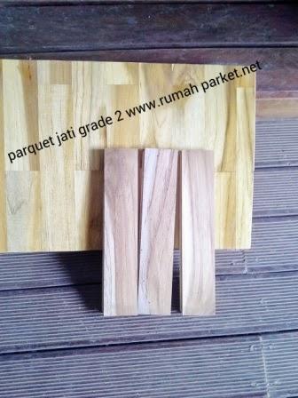lantai kayu jati grade 2