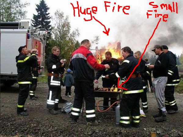 Funny Fire fighters