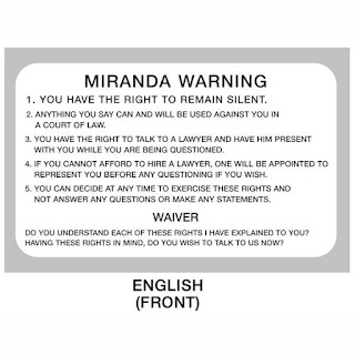 Miranda Warnings & DUI