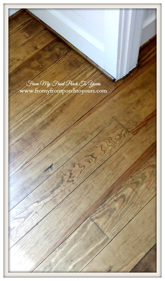 Texas Farmhouse Rustic Pine Floors-RoundTop Texas-Trendmaker Homes-From My Front Porch To Yours