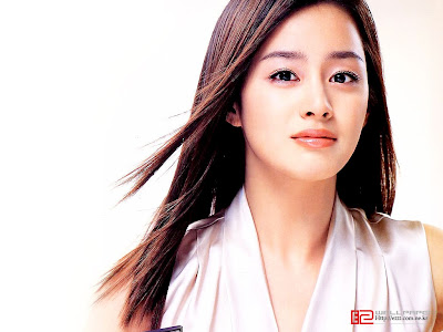 Biografi Kim Tae-hee Artis cantik korea