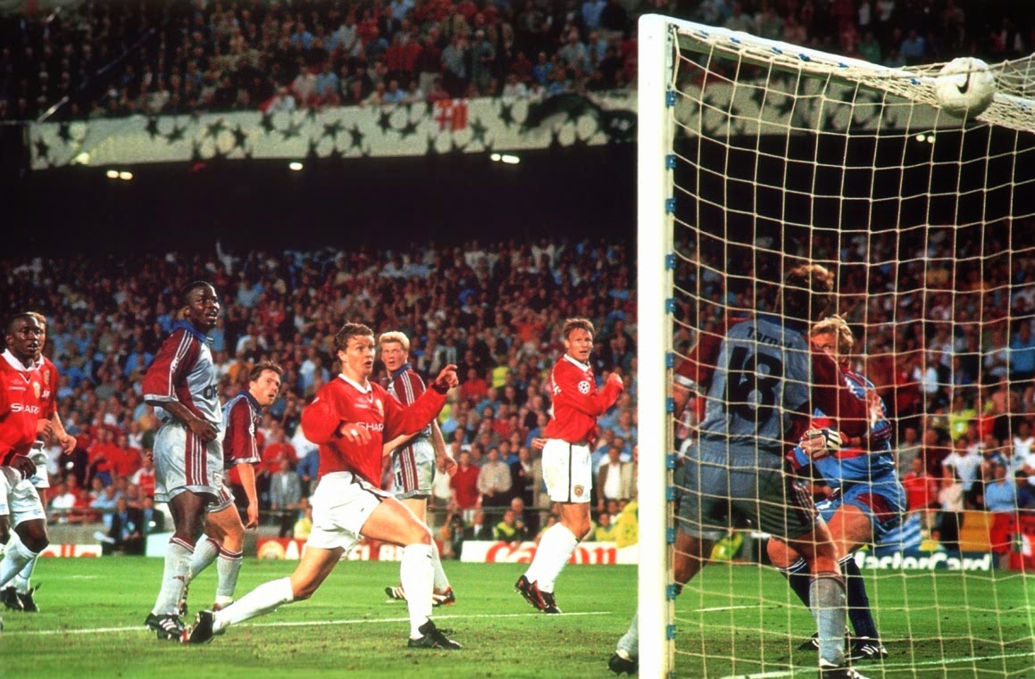 And Solskjaer has won it!