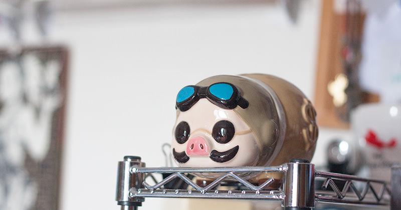 紅の豚 貯金箱