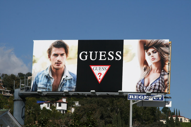 Guess Feb 2010 billboard