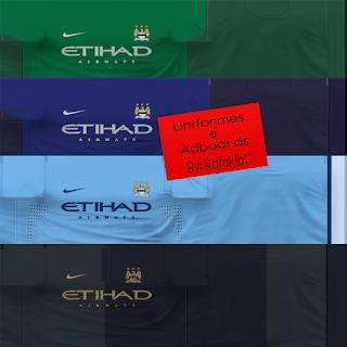 Uniform Manchester City 2013/2014 By RafaRibC - PES 6
