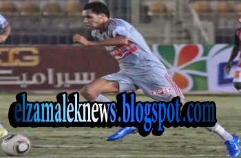 علاء علي مهاجم نادي سموحة