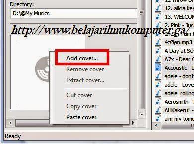 Cara Membuat Cover Album Mp3 Sendiri