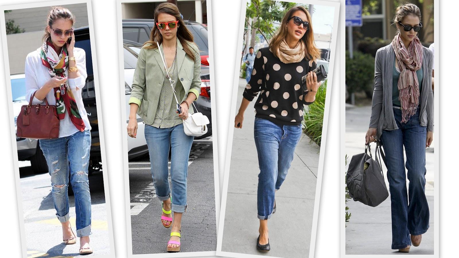 Fashion Make Up Style Style Icon Jessica Alba