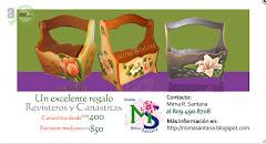 CANASTAS Y REVISTEROS