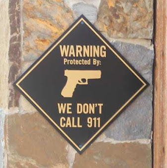 Front door sign