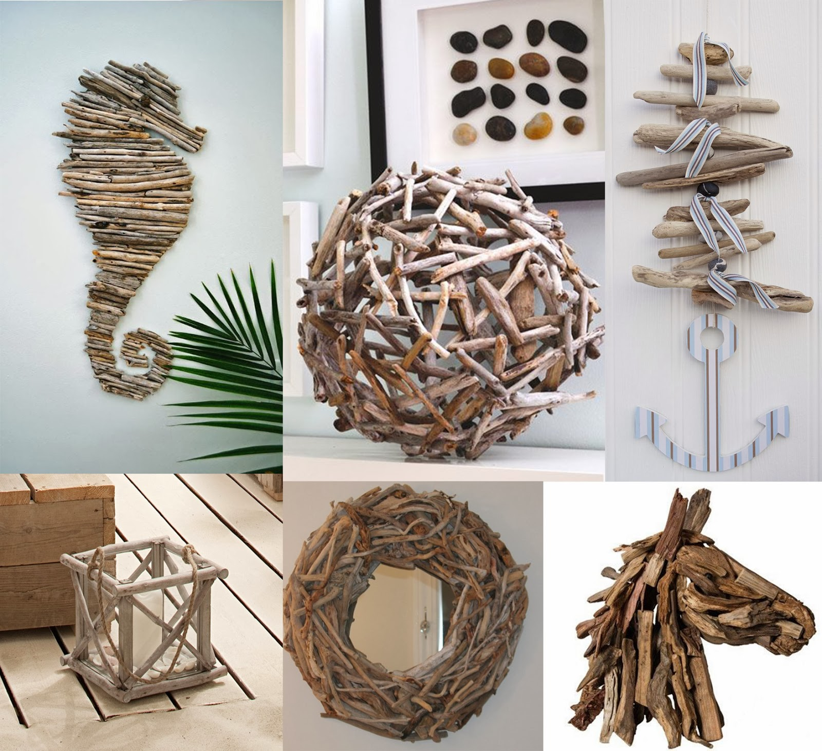 Projects: Pinspirational Projects: Driftwood Christmas Tree