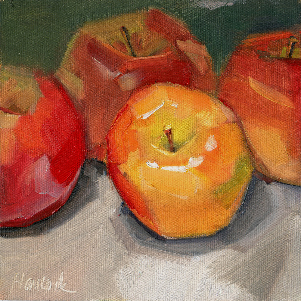 Red And Yellow Apples They're red and yellow and