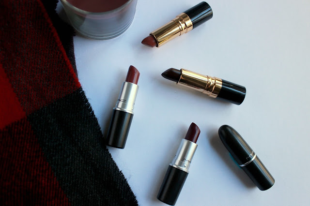 MAC, Revlon, Plumful, Rebel, Amorous, Fall, Lipsticks, Top, 5, Rose Velvet, Black Cherry, Super Lustrous, lipstick