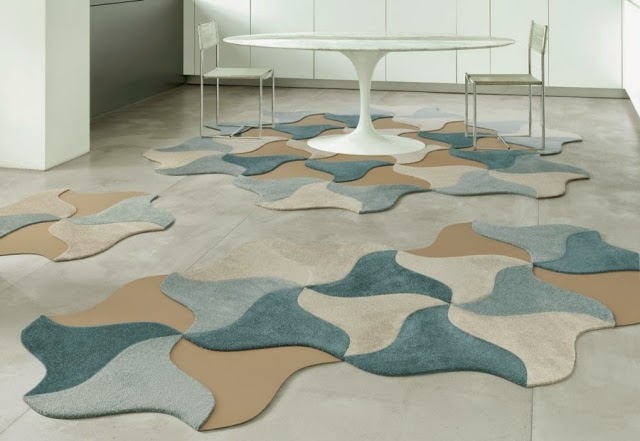 floor puzzle mat, modern puzzle decor