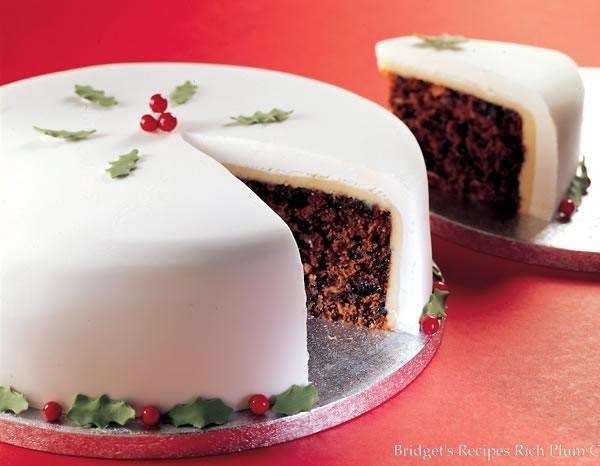 British christmas cake recipes