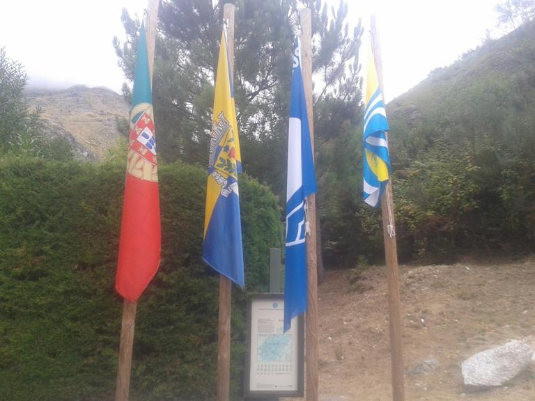 Bandeiras Praia Fluvial Loriga