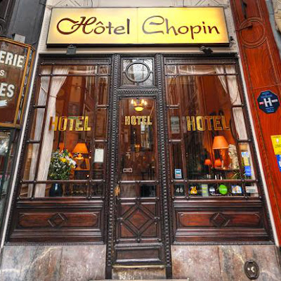 @Hotel Chopin Parigi