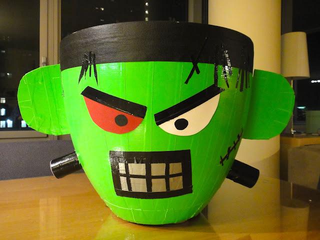 Halloween Junk Bin