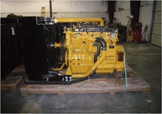 CAT C9, complete diesel generator, Power Unit,
