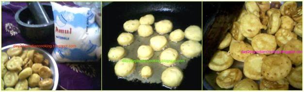 step by step process of making pakori raita