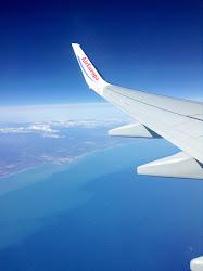 Vista desde el avión