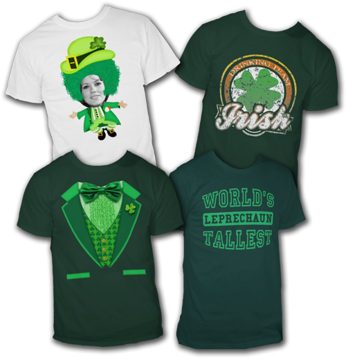 Popular St. Patrick's Day T-Shirts and Irish T-Shirts
