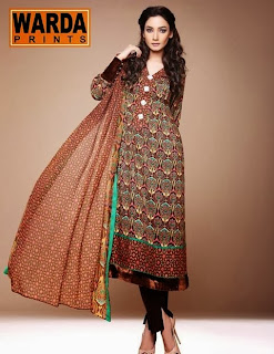 Warda Winter Designer collection 2013 for girls