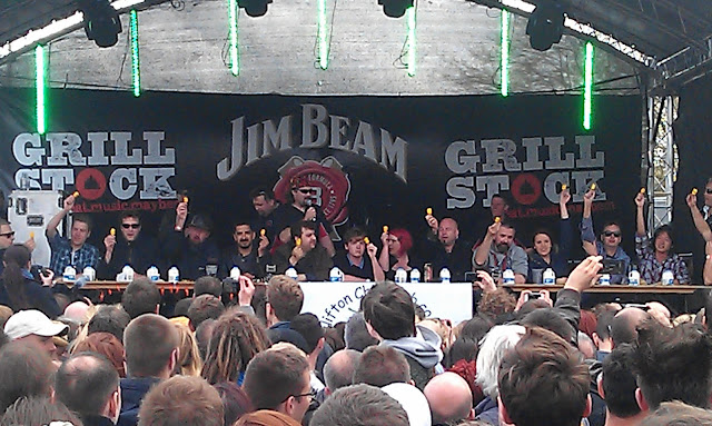 Bristol Grillstock 2013 Chilli Eating Competition