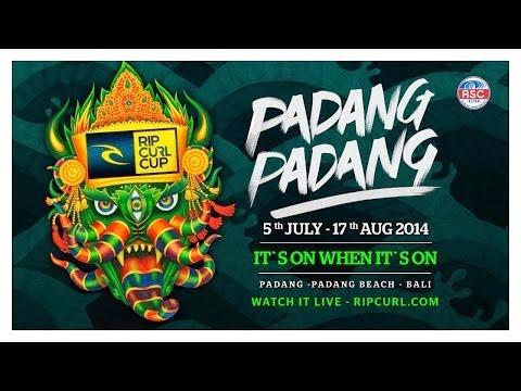 Official Teaser Rip Curl Cup Padang Padang 2014