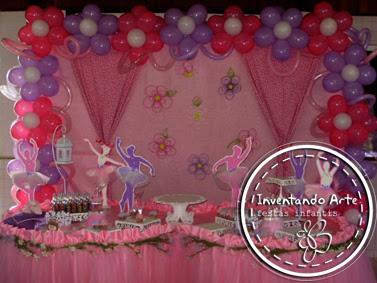 festa infantil bailarinas ponta grossa