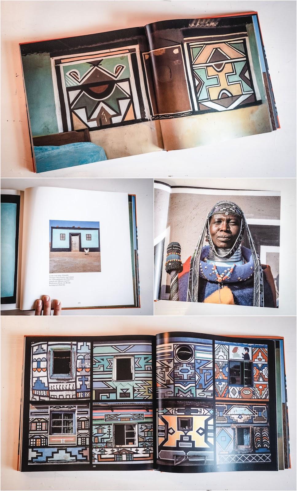 Bildband Südafrika, Die Kunst der Ndebele-Frauen